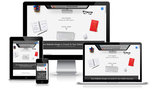 Mobile friendly web designs arttdigital Salisbury